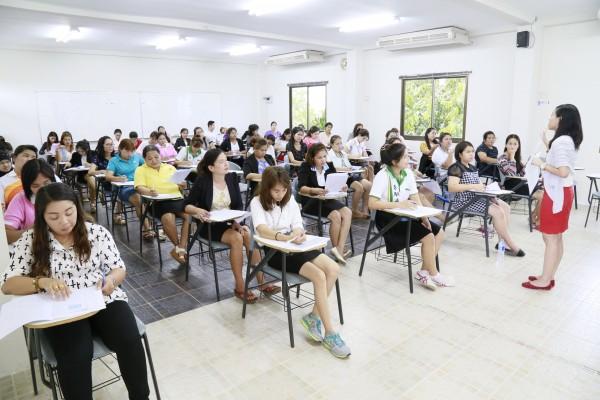 สอบปลายภาค ปีการศึกษา 2557 นักศึกษา รมป.รุ่นที่ 2