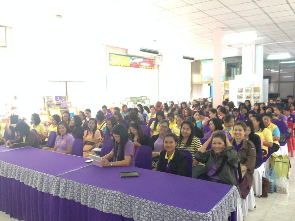 นักศึกษาโครงการความร่วมมือฯ (รมป.2) ศึกษาดูงานโรงเรียนโสตศึกษา จังหวัดปราจีนบุรี