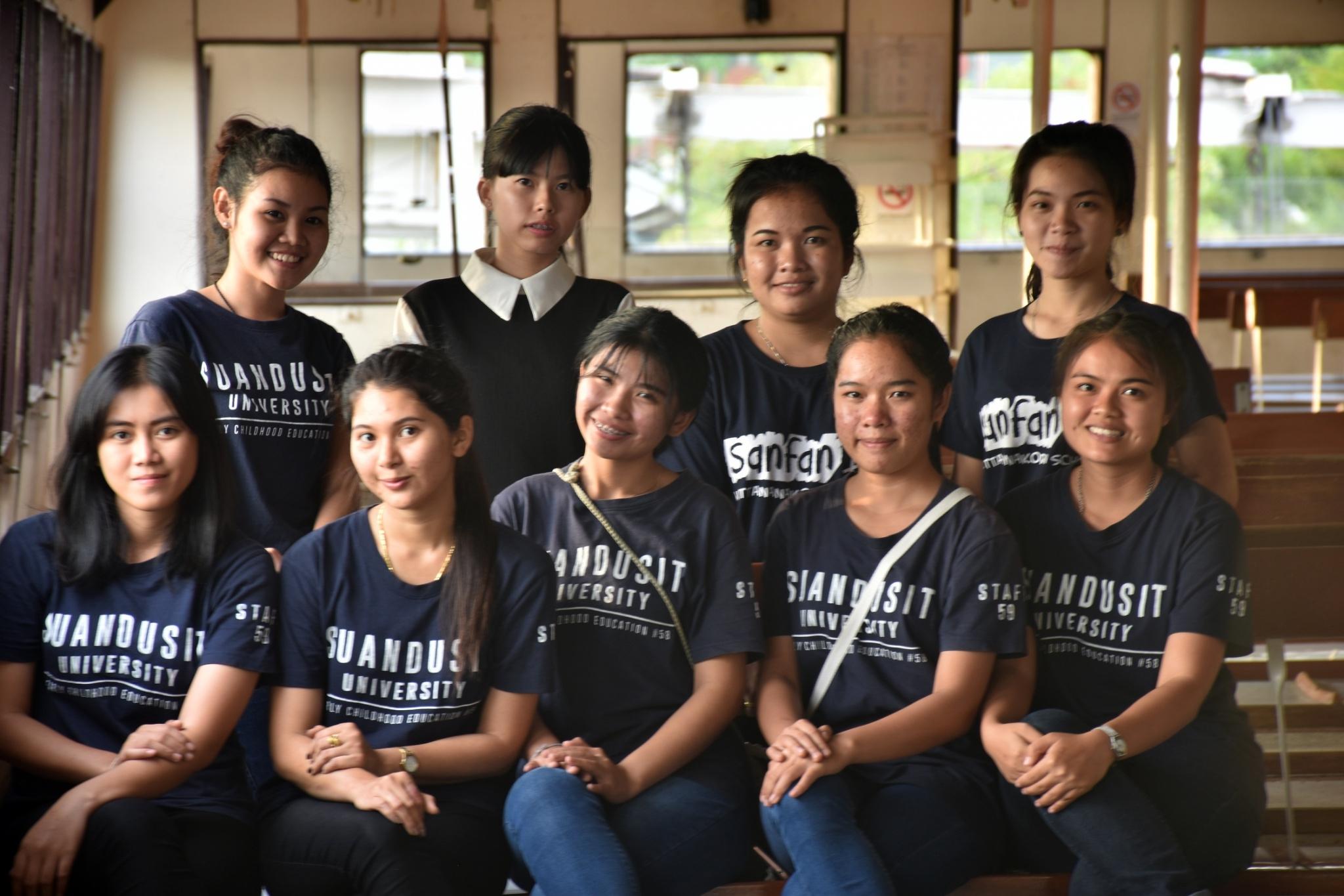 ชมรมนวัตกรรม มหาวิทยาลัยสวนดุสิต ศูนย์การศึกษานอกที่ตั้งนครนายก จัดกิจกรรมร่วมกับบ้านช้างไทย จ.ตราด