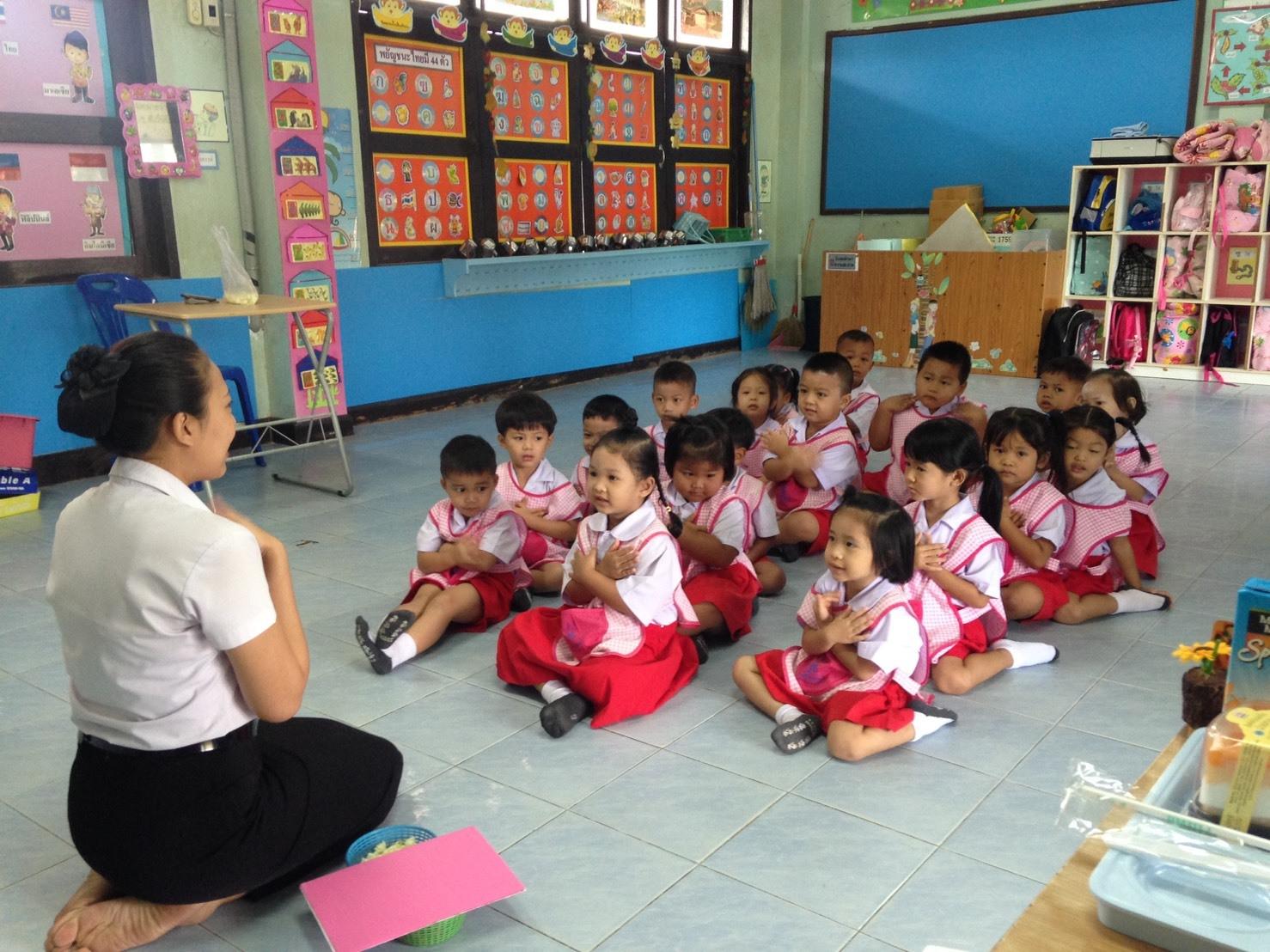 อาจารย์ประจำหลักสูตรการศึกษาปฐมวัย มสด.นครนายก ออกนิเทศนักศึกษาฝึกประสบการณ์ชั้นปีที่ 5