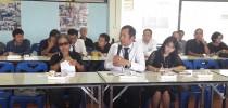 ผู้อำนวยการมหาวิทยาลัยสวนดุสิต ศูนย์การศึกษานอกที่ตั้งนครนายก เข้าร่วมประชุมประชาคมท้องถิ่นระดับเมืองของเทศบาลเมืองนครนายก