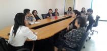 หลักสูตรปฐมวัยมหาวิทยาลัยสวนดุสิตศูนย์การศึกษานอกที่ตั้งนครนายกประชุมร่วมกับโรงเรียนสาธิตละอออุทิศ