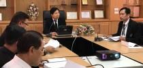 ผู้อำนวยการศูนย์การศึกษานอกที่ตั้งนครนายก ประชุมวางแผนปรับยุทธศาสตร์การพัฒนาการศึกษาระดับภาคและแผนปฏิบัติราชการการศึกษา