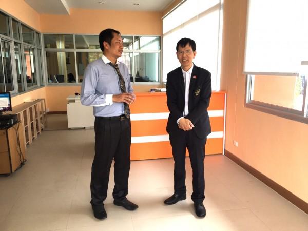 ผู้อำนวยการศูนย์การศึกษานอกที่ตั้งนครนายก ต้อนรับ Prof. Dr. Mr. Wu Xiaoxin ผู้อำนวยการสถาบันขงจื้อ