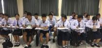 บรรยากาศการเรียนการสอนโครงการ Pre-Teacher Program ในศุกร์ที่ 8 กันยายน 2560