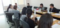 ผู้อำนวยการมหาวิทยาลัยสวนดุสิต ศูนย์การศึกษานอกที่ตั้งนครนายก ประชุมหลักสูตรการศึกษาปฐมวัย