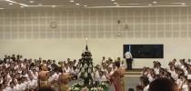 ศูนย์การศึกษานอกที่ตั้งนครนายก เข้าร่วมโครงการครุศาสตร์บูชาครู(ไหว้ครู) ประจำปี 2560