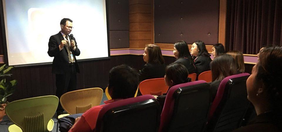 """นักศึกษาโครงการ รมป.2 เข้าร่วม """"การพัฒนาความเป็นวิชาชีพครู : กิจกรรมการพัฒนาความเป็นส่วนดุสิต"""""""
