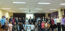 มหาวิทยาลัยสวนดุสิต ศูนย์การศึกษานอกที่ตั้ง นครนายก จัดอบรมเชิงปฏิบัติการโครงการส่งเสริมและพัฒนาการจัดการศึกษาเด็กปฐมวัย