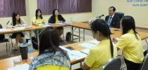มหาวิทยาลัยสวนดุสิต ศูนย์การศึกษานอกที่ตั้ง นครนายก ประชุมประจำเดือนตุลาคม 2561