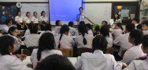 มหาวิทยาลัยสวนดุสิต ศูนย์การศึกษานอกที่ตั้งนครนายก ออกแนะแนวทางการศึกษา ณ โรงเรียนมารีวิทยา จ.ปราจีนบุรี