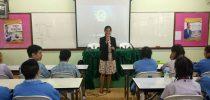 มหาวิทยาลัยสวนดุสิต ศูนย์การศึกษานอกที่ตั้งนครนายก ออกแนะแนวทางการศึกษา ณ โรงเรียนมารีวิทยากบินทร์ จ.ปราจีนบุรี