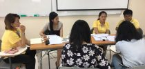 มหาวิทยาลัยสวนดุสิต ศูนย์การศึกษานอกที่ตั้ง นครนายก ประชุมเพื่อเตรียมความพร้อมในการจัดเตรียมทำเอกสารเพื่อรองรับการตรวจรับรองหลักสูตรจากคุรุสภา