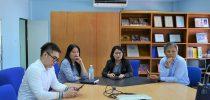 มหาวิทยาลัยสวนดุสิต ศูนย์การศึกษานอกที่ตั้ง นครนายก  ต้อนรับคณะกรรมการบริหารสำนักกิจการพิเศษ ในการเยี่ยมชมการดำเนินงานของสำนักกิจการพิเศษ