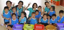 มหาวิทยาลัยสวนดุสิต ศูนย์การศึกษานอกที่ตั้ง นครนายก  จัดกิจกรรมส่งเสริมพัฒนาการเด็กบริบาล