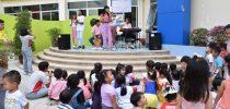 โรงเรียนสาธิตละอออุทิศ นครนายก ร่วมกับคณะพลศึกษา มหาวิทยาลัยศรีนครินทรวิโรฒ องครักษ์  จัดโครงการ Happy Kids With Recreation