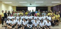มหาวิทยาลัยสวนดุสิต ศูนย์การศึกษานอกที่ตั้ง นครนายก จัดปฐมนิเทศนักศึกษาใหม่ และประชุมผู้ปกครอง ประจำปีการศึกษา 2562