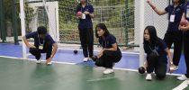มหาวิทยาลัยสวนดุสิต ศูนย์การศึกษานอกที่ตั้ง นครนายก จัดกิจกรรม ( กีฬาลอนโบวล์ส )