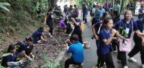 มหาวิทยาลัยสวนดุสิต ศูนย์การศึกษานอกที่ตั้งนครนายก ร่วมกับสโมสรไลออนส์ นครนายก นำนักศึกษาร่วมกิจกรรมปลูกป่า ภาคี ณ  เขากะเหรี่ยง วัดคีรีวัน อ.เมือง จ.นครนายก