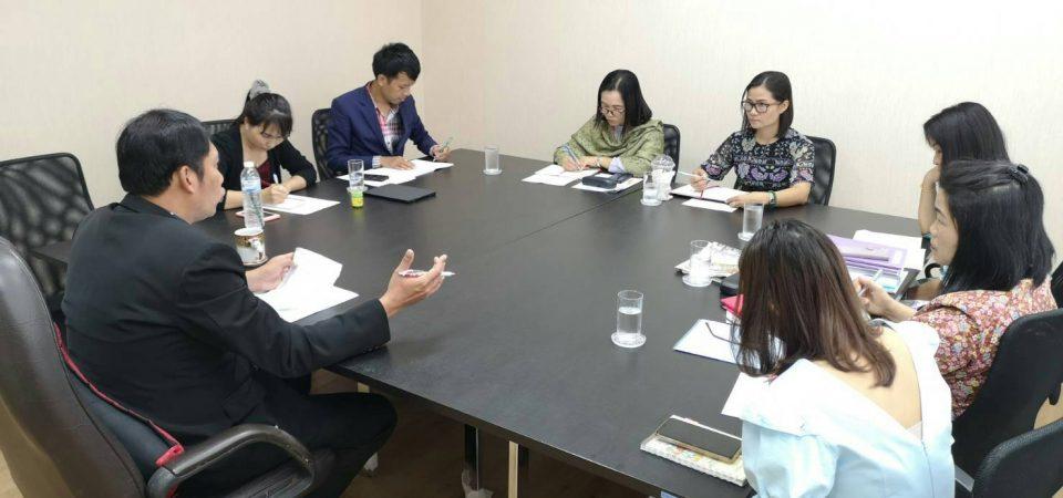การประชุมคณะผู้บริหารศูนย์การศึกษานอกที่ตั้งนครนายก