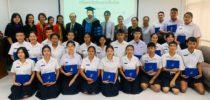 มหาวิทยาลัยสวนดุสิต นครนายก จัดพิธีมอบเกียรติบัตร และแสดงความยินดีกับนักเรียนหลักสูตรเตรียมครู  (Pre-Teacher Program) รุ่นที่ 1