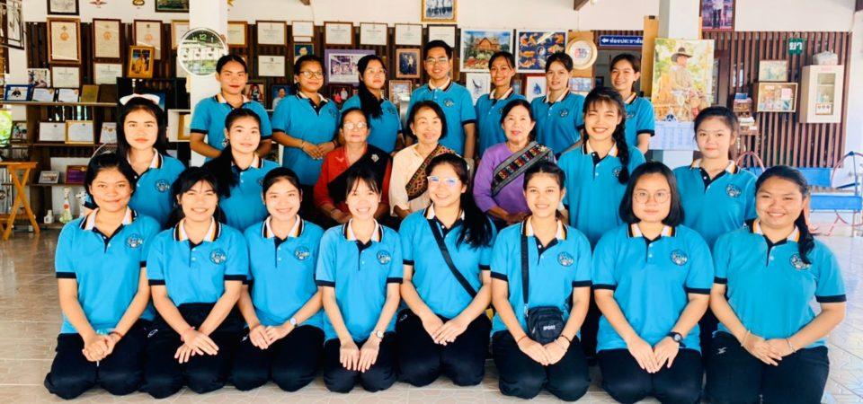 มหาวิทยาลัยสวนดุสิต นครนายก จัดโครงการรักษ์ชุมชนคนไทยพวน  ในกิจกรรมที่ 2 สนุกเล่นการละเล่นไทยพวน