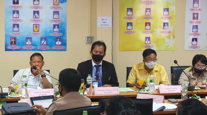 มหาวิทยาลัยสวนดุสิต นครนายก ร่วมการประชุม คณะอนุกรรมการเกี่ยวกับการพัฒนาการศึกษาจังหวัดนครนายก ครั้งที่ 4 / 2563